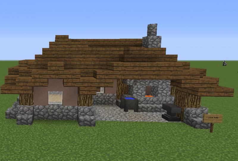 Medieval Settlement Blacksmith GrabCraft Your Number
