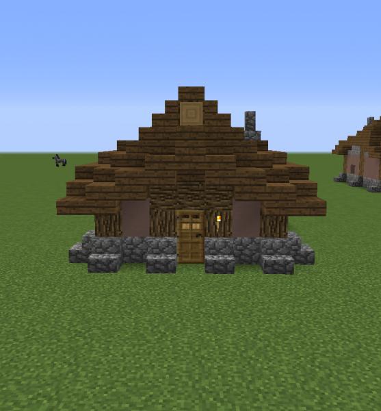 Medieval settlement medium sized house 5 grabcraft for Medium houses