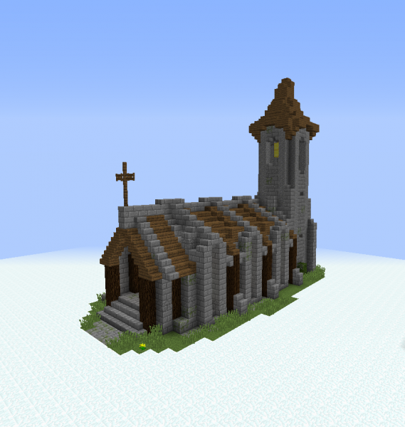 Medieval Village Church GrabCraft Your Number One