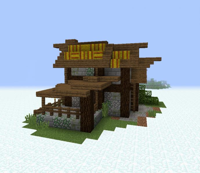 Medieval Village House 3 - Grabcraft
