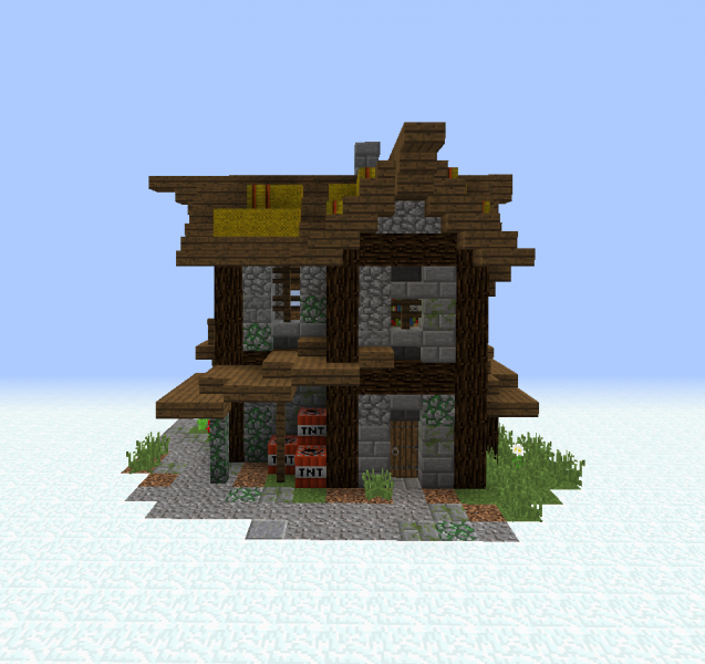 Medieval Village House 7