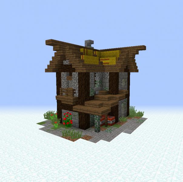 Medieval Village House 7 - Grabcraft
