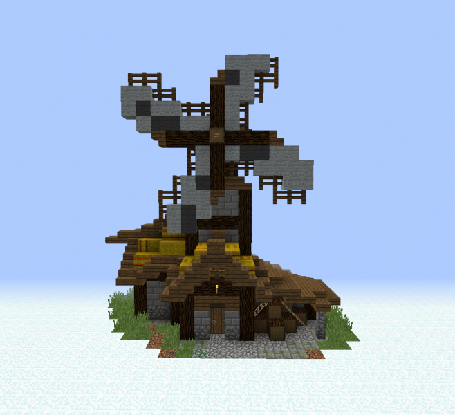 Medieval Village Windmill GrabCraft Your Number One