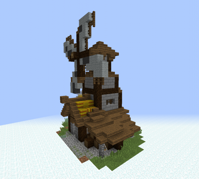 Medieval Village Windmill - GrabCraft - Your number one ...