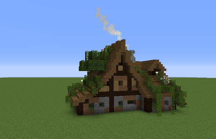 villa bauen minecraft