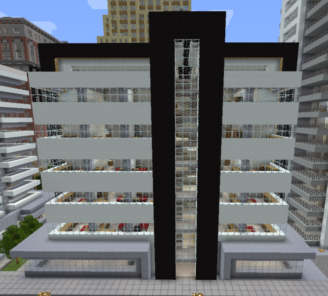 Modern City Apartment Building 1 Grabcraft Your Number
