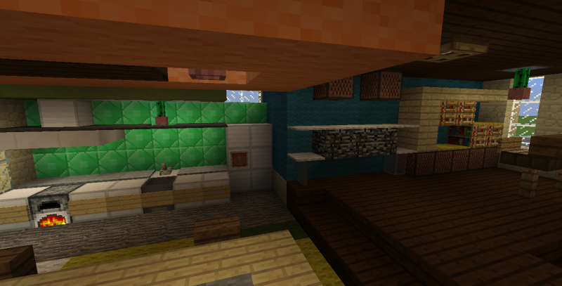 Modern House with Backyard - GrabCraft - Your number one ...