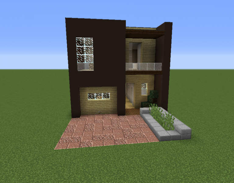 Modern private house 15 grabcraft your number one for Modern home stuff