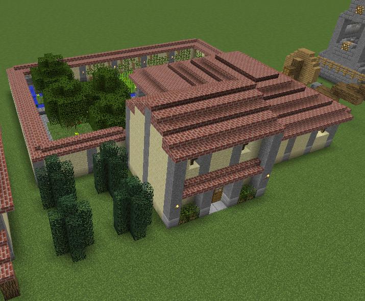 Minecraft Roman Villa