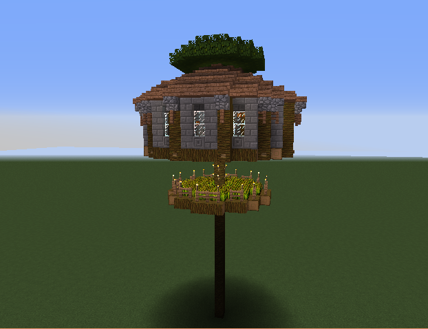 Round Treehouse - Grabcraft