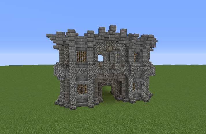 Simple Medieval Castle Wall Gate - GrabCraft - Your number ...