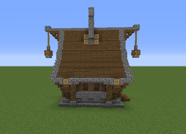 Simple Medieval House GrabCraft Your Number One Source