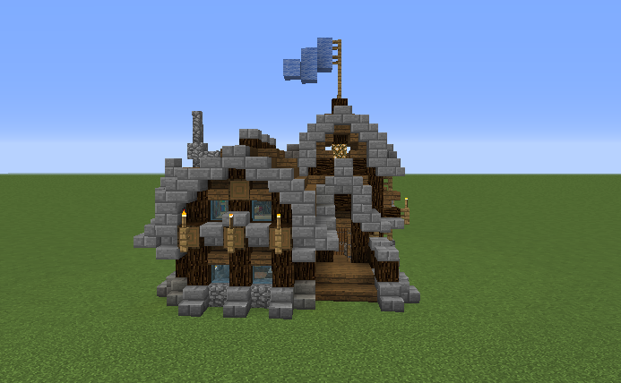 Rustic House Design Minecraft Home And Style