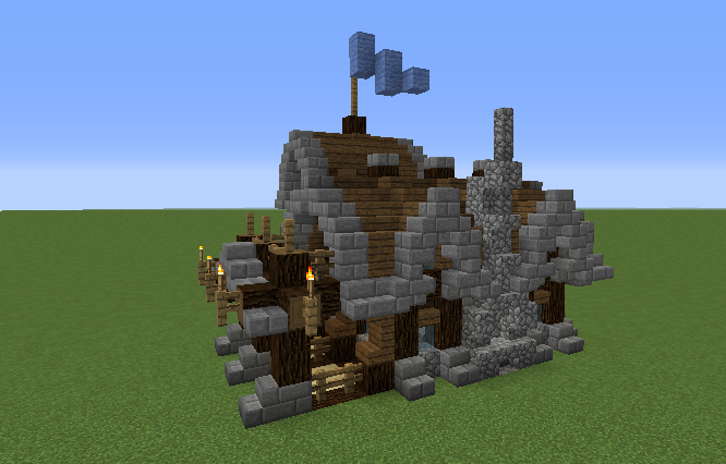 Simple Rustic Small Survival House Grabcraft Your