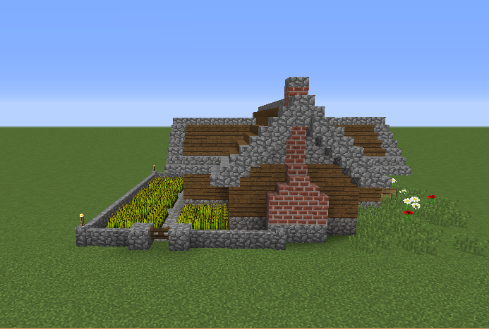 Simple Starter House 4 Grabcraft Your Number One
