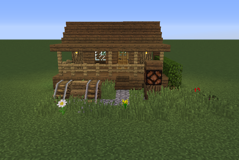 Small wooden cabin 5 grabcraft your number one source for Small starter homes