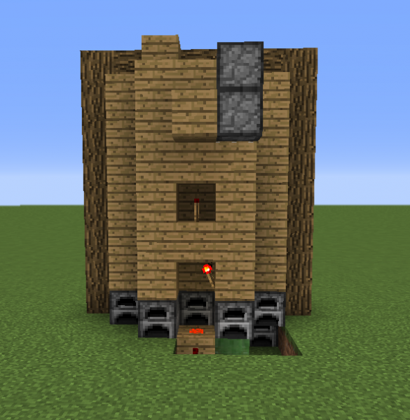 how to build a minecraft elavator