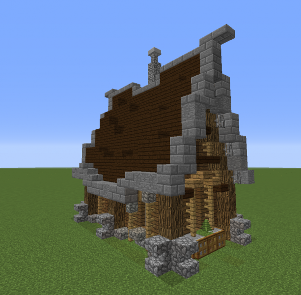 Small House Medieval Design 1 - GrabCraft - Your number ...