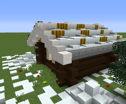 Small Log Cabin - Grabcraft