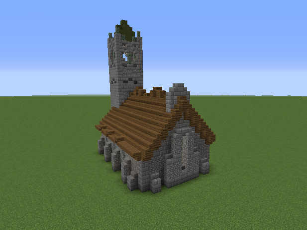 Small Medieval Church 2 GrabCraft Your Number One