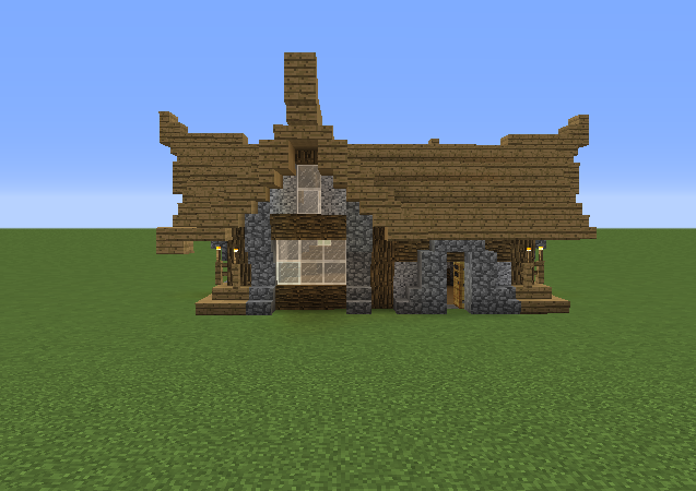 Small medieval house 8 grabcraft your number one for Small minecraft house blueprints