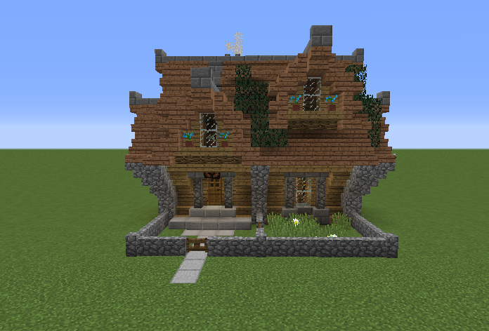 small medieval victorian house grabcraft your number