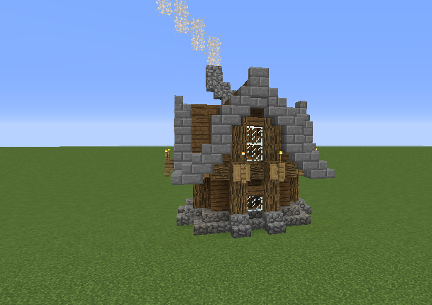 Small Rustic Starter Home Grabcraft Your Number One