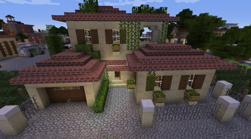 Small Sandstone House Grabcraft Your Number One Source