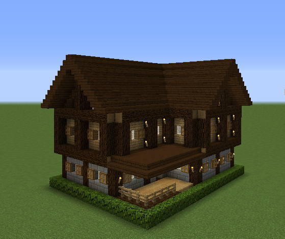 Minecraft Oak Wood ~ Small survival house grabcraft your number one