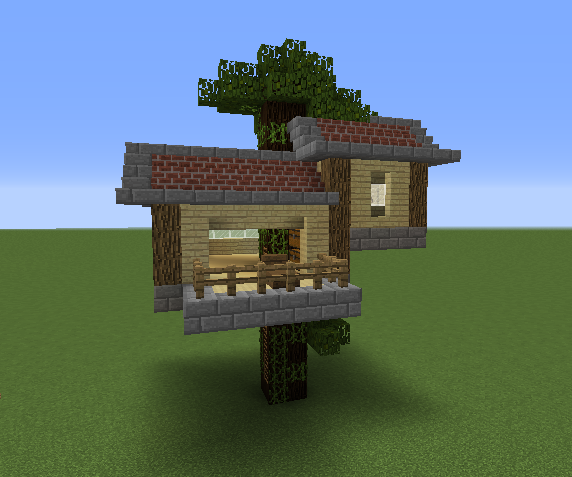 Small Tree House 1 - Grabcraft