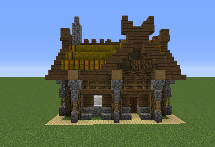 small viking house grabcraft your number one source