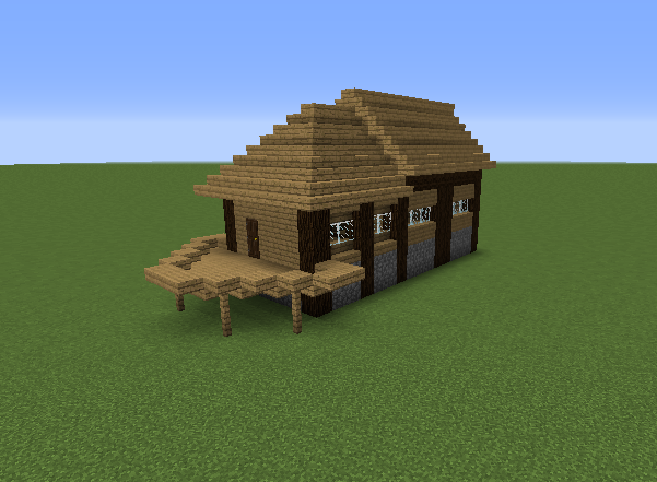 Wooden starter house grabcraft your number one source for Small starter homes
