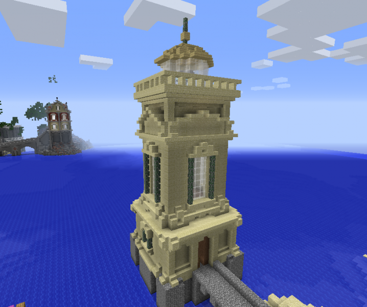 Sandstone Lighthouse GrabCraft Your Number One Source
