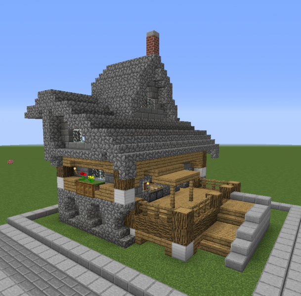 Stone Roof Medieval Shop Grabcraft Your Number One