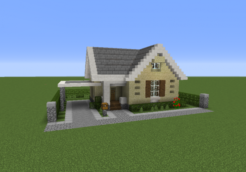 Suburban house 4 grabcraft your number one source for for Suburban house blueprints