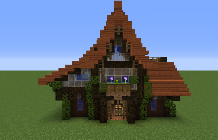 Minecraft White Clay House Design And Decorating Ideas