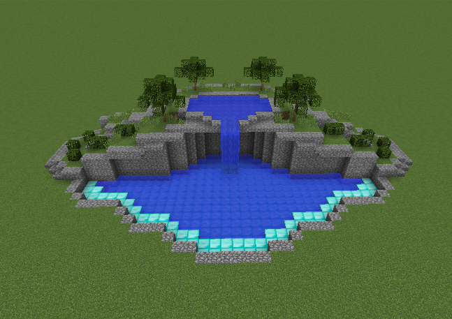 Swimming Pool On 2 Levels GrabCraft Your Number One