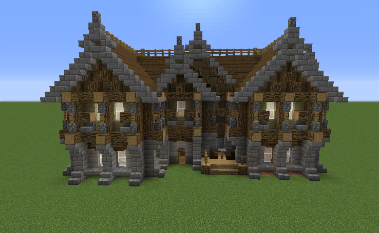 Two Storey Medieval Inn Grabcraft Your Number One