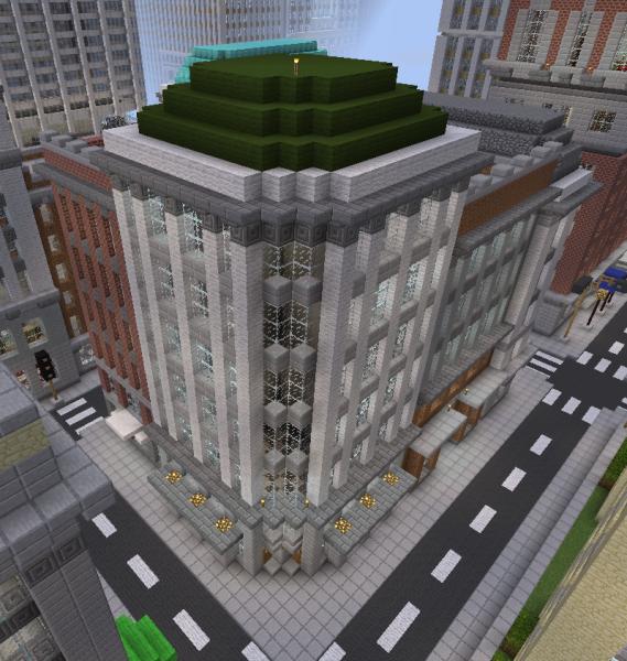 Minecraft Apartment: Typical American Apartment Building Block 2
