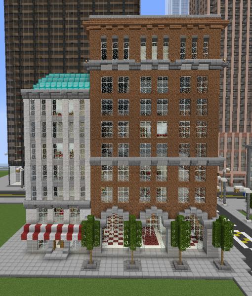 Minecraft Apartment: Typical American Apartment Building Block 3