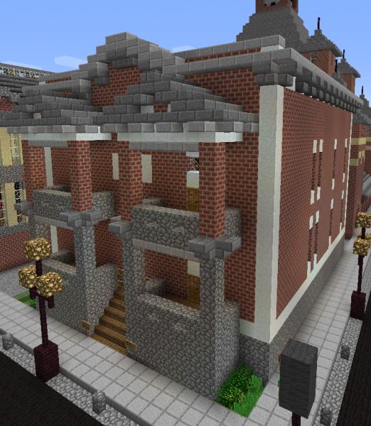 Minecraft Apartment: Victorian Apartment Building 1