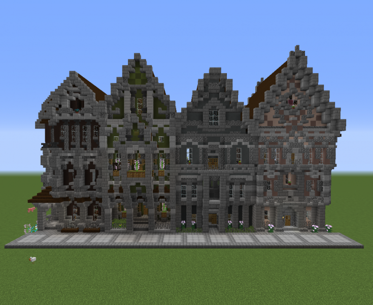 Victorian Houses Block GrabCraft Your Number One