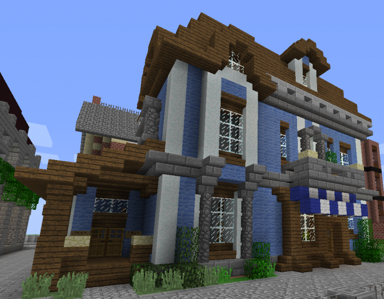 Victorian shop apartment building 1 grabcraft your for Victorian style apartment