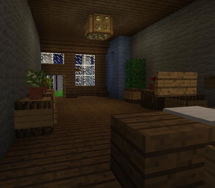 Minecraft Apartment: Victorian Shop & Apartment Building 1