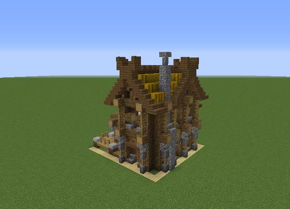Как построить деревню викингов в майнкрафте