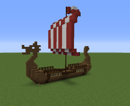 Viking nordic long boat grabcraft your number one for How long did it take to build the white house