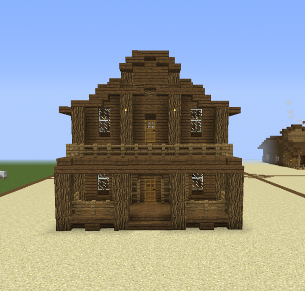 Western Wooden House GrabCraft Your Number One Source
