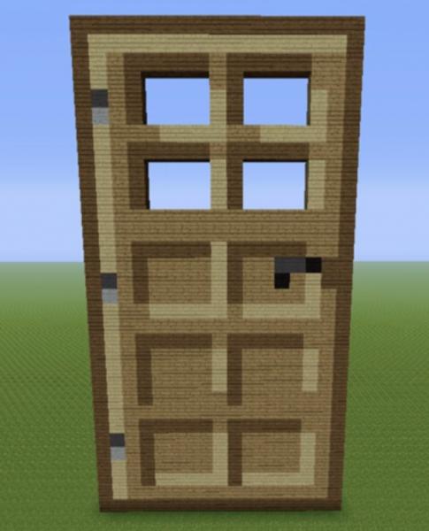 Minecraft Oak Door : Wooden door grabcraft your number one source for
