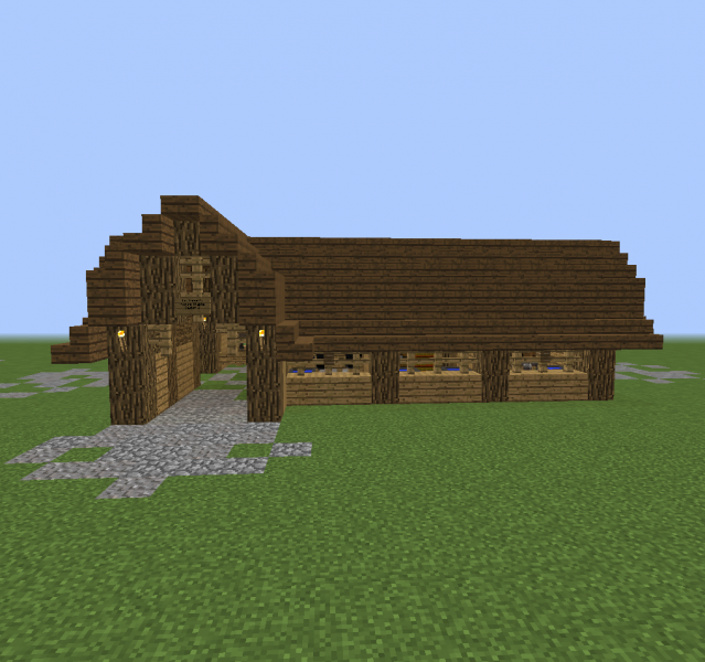 Wooden Horse Stable 2 Grabcraft Your Number One Source