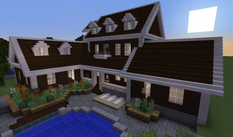 wooden mansion grabcraft your number one source for